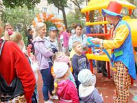 Большой праздник для маленьких детей - Новая Ивантеевка